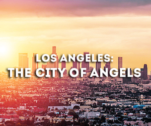 city of angels, los angeles, and summer 2k14 image