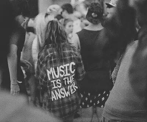 answer, hipster, and music image