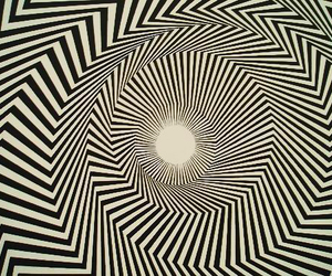 art, bridget riley, and psychedelic image