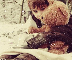 snow, cute, and boy image