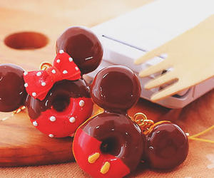 disney, chocolate, and mickey image
