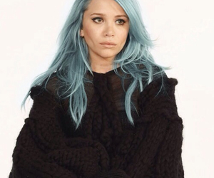 olsen, hair, and blue image