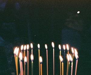 candle, grunge, and birthday image