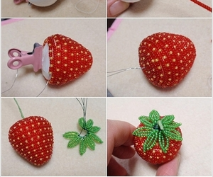 diy and strawberry image