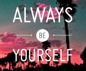 yourself, always, and quote image