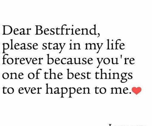 love, bestfriend, and forever image
