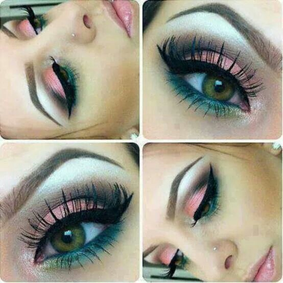 color, inspiration, and makeup image