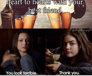 pll, pretty little liars, and sparia image