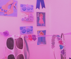 barbie, room, and wall image