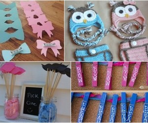 baby shower, gender reveal, and gender reveal party ideas image