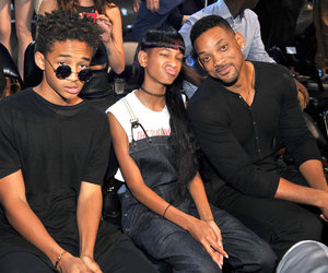 will smith, jaden smith, and willow smith image