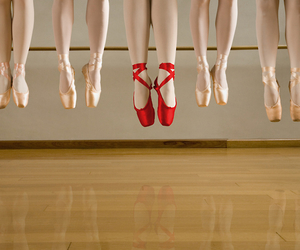 ballet, dance, and red image