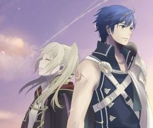 chrom, rufure, and fire emblem: kakusei image
