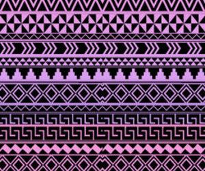 wallpaper, aztec, and purple image