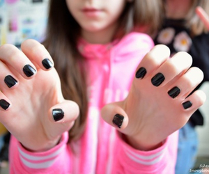 nails, black, and quality image