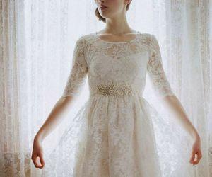 beautiful, wedding, and dress image