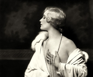 1930, black&white, and girl image