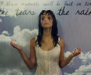 clouds, quotes, and corset image