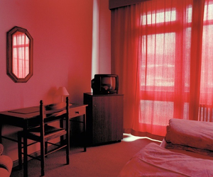red, light, and room image