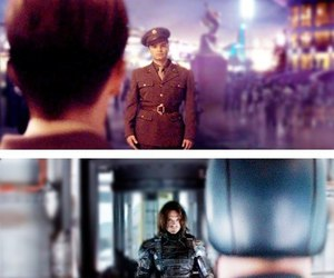 captain america, winter soldier, and Avengers image