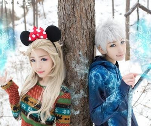 cosplay, dreamworks, and jelsa image