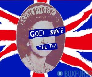 british, tea, and punk image