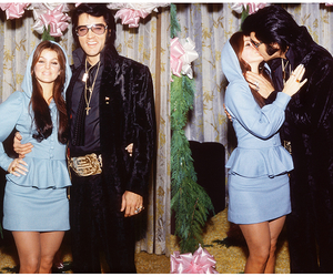 Elvis Presley, tumblr, and priscilla presley image