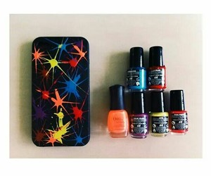 art, orly, and iphonecase image
