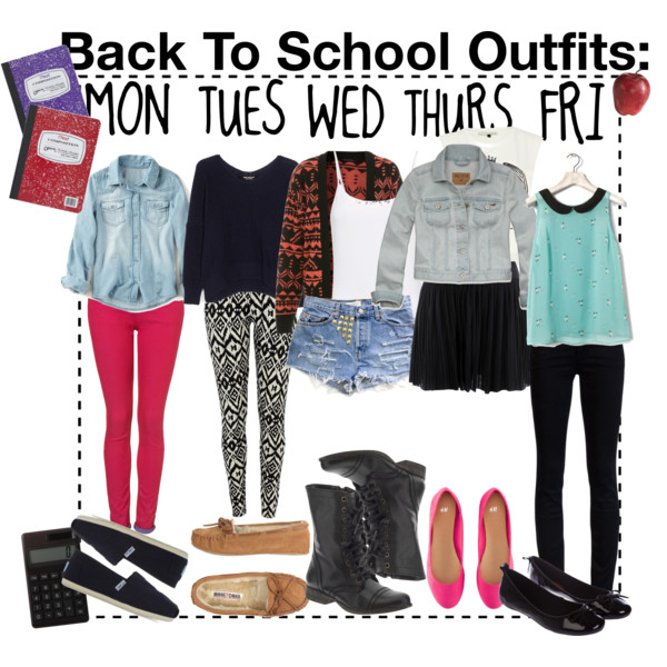 da0d796f91 Fashion Inspiration › · ♥⚢✩ Untitled ❤. Tagged with. back to school