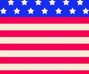 wallpaper, america, and flag image