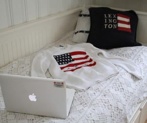 bed, lexington, and macbook image