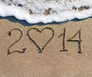 summer, beach, and 2014 image