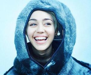 miley cyrus, smile, and mileycyrus image