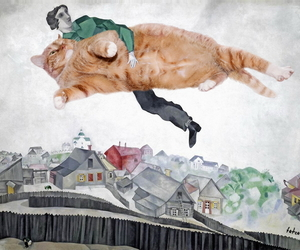 art, cat, and inspiration image