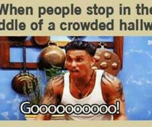 yeah, jersey shore, and pauly image