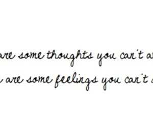 black and white, feelings, and text image