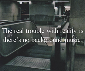reality, music, and background image