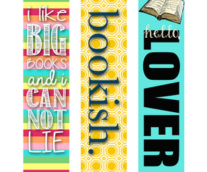 bookmark and book nerds image