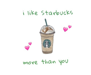 starbucks, love, and food image
