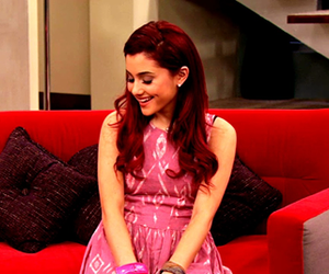 ariana grande, red hair, and cat valentine image