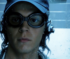 quicksilver, evan peters, and x-men image