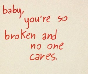 broken, baby, and care image