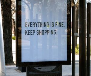 shopping, quote, and fine image