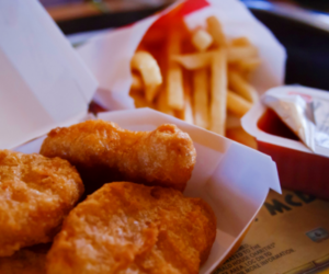 Chicken, food, and nuggets image