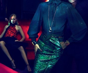 Abbey Lee Kershaw, ad campaign, and Couture image