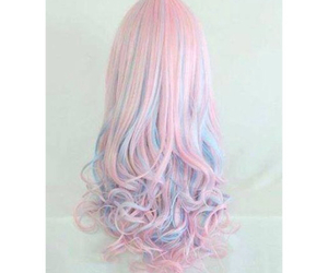 cute hair, girls, and ombre image