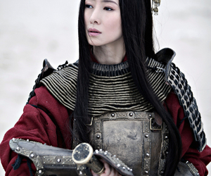 asian, woman, and warrior image