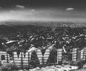 city, hollywood, and la image