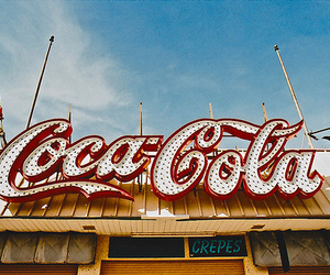 coca cola, vintage, and coca-cola image
