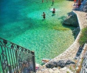 summer, sea, and Greece image